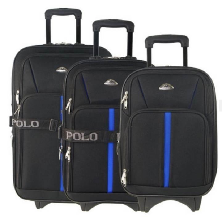 Polo Koper Set Road - Hitam