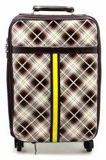Ulasan Tentang Polo Team 012 2 Koper Soft Case Cokelat