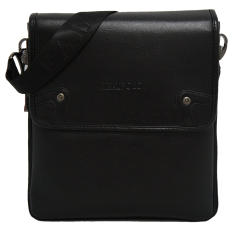 Toko Real Polo Shoulder Bag 8777 Expandable Hitam Online Indonesia