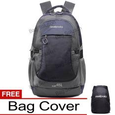 Real Polo Tas Ransel Kasual Jumbo 6331 Backpack Xl Bonus Bag Cover Biru Tua Di Dki Jakarta