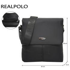 Toko Real Polo Tas Selempang Travel 8817 Hitam Termurah