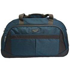 Real Polo Travel Bag Duffle Bag Tas Pria Tas Wanita Tas Pakaian Multi Fungsi Tas Jinjing Dan Tas Selempang 6298 Biru Di Jawa Barat