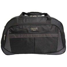 Jual Real Polo Travel Bag Duffle Bag Tas Pria Tas Wanita Tas Pakaian Multi Fungsi Tas Jinjing Dan Tas Selempang 6298 Hitam Branded
