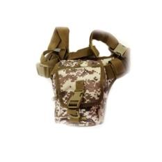 Jual Silver Knight Tas Slempang Army Sling Bag 9001 Desert Coklat Murah Dki Jakarta