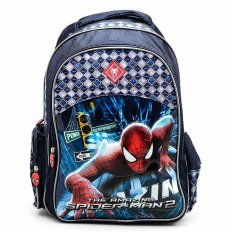 Harga Spiderman Smrs 1418 8042 Power Series Tas Ransel Anak Navy Blue Spiderman