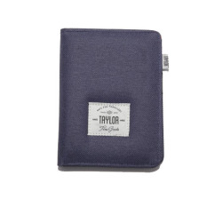 Situs Review Taylor Fine Goods Wallet Passport 403 Biru