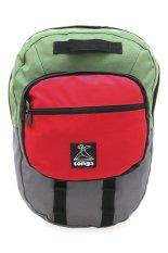 Spesifikasi Tonga 31Ahm003508 Tas Ransel Abu Hijau Merah Yg Baik