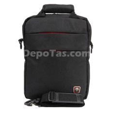 Beli Tracker 5852 Tas Multifungsi Hitam Dengan Kartu Kredit