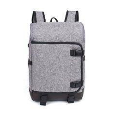 Harga Unique Tas Laptop Backpack Ransel Korean Elite K8 Abu Abu Yang Murah Dan Bagus