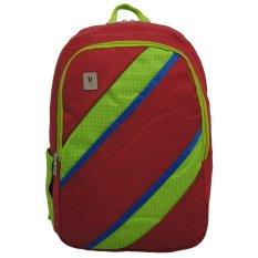 Miliki Segera Voyager Tas Ransel Laptop Kasual Tas Pria Tas Wanita 7815 Backpack Up To 15 Inch Bonus Bag Cover Merah