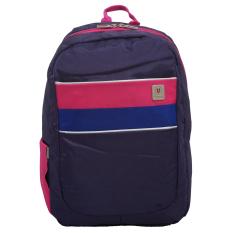Kualitas Voyager Tas Ransel Laptop Kasual Tas Pria Tas Wanita 7816 Backpack Up To 15 Inch Bonus Bag Cover Ungu Voyager
