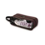 Spek Waterproof Shoe Bag Multi Purpose Wash Bag Makeup Case Portable Travel Handbag Zipper Toiletry Kopi Indonesia