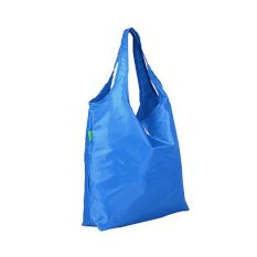 Weekeight Korean Foldable Jumbo Shooping Handbag - Tas Shopping Belanja Lipat - Biru By Mairu Indonesia.