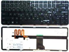 100% BARU Keyboard untuk HP HP Pavilion DM4 DM4-1000 Dm4t-1000 Dm4-2000 Dm4t-2000 Dv5-2000 Laptop Keyboard Backlit HITAM
