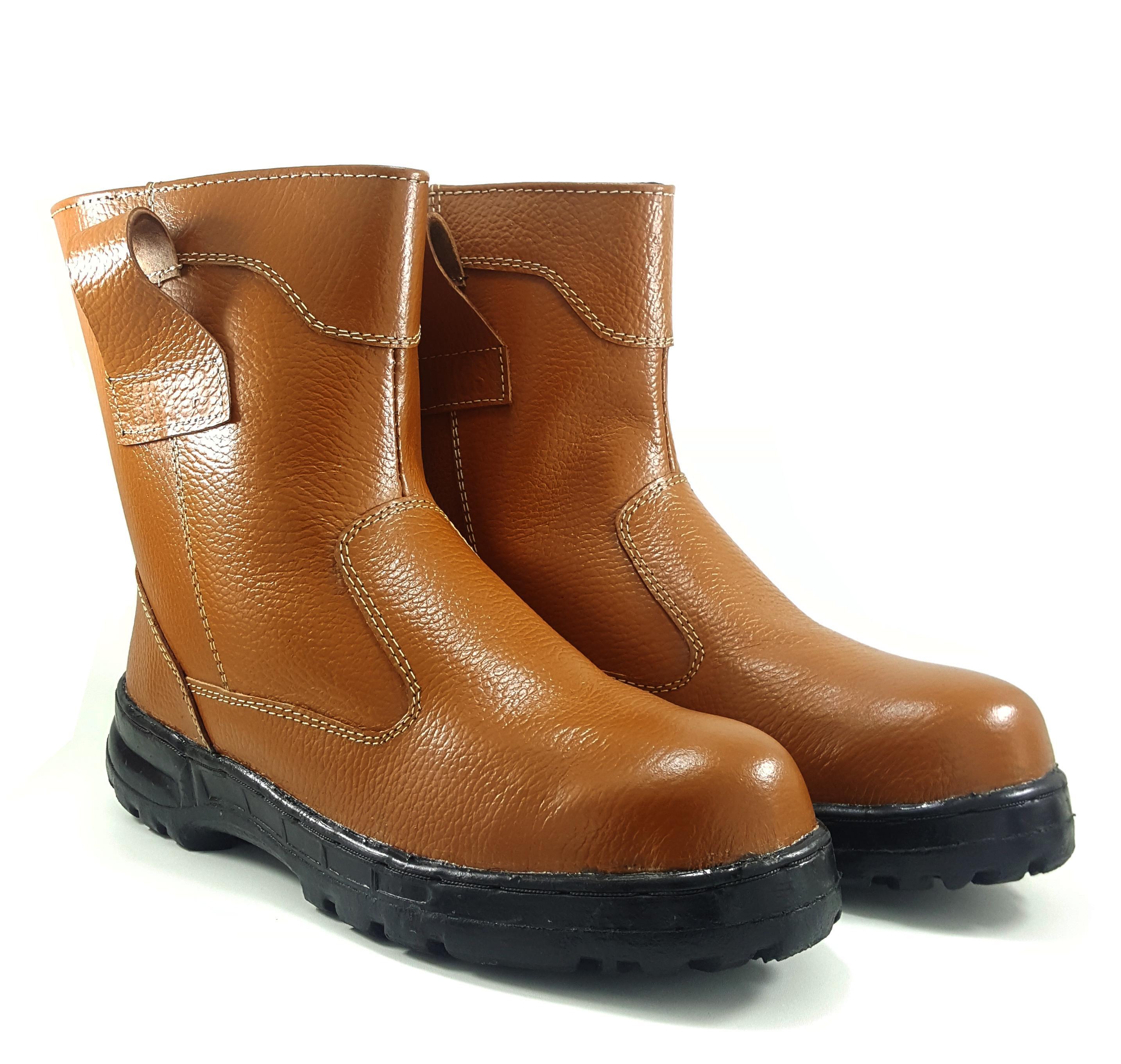 Sepatu Boots Safety Asli Kulit King Arthur