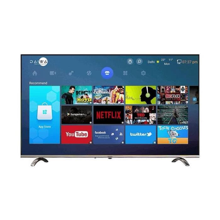 Promo Terakhir - Coocaa 50UB5100 Smart LED TV-Hitam [50 Inch/4K/ UHD]