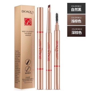 BIOAQUA eyebrow pencil make up tools automatic waterproof eyebrow pencil Liner eye brow pen with brush cosmetic makeup tools thumbnail