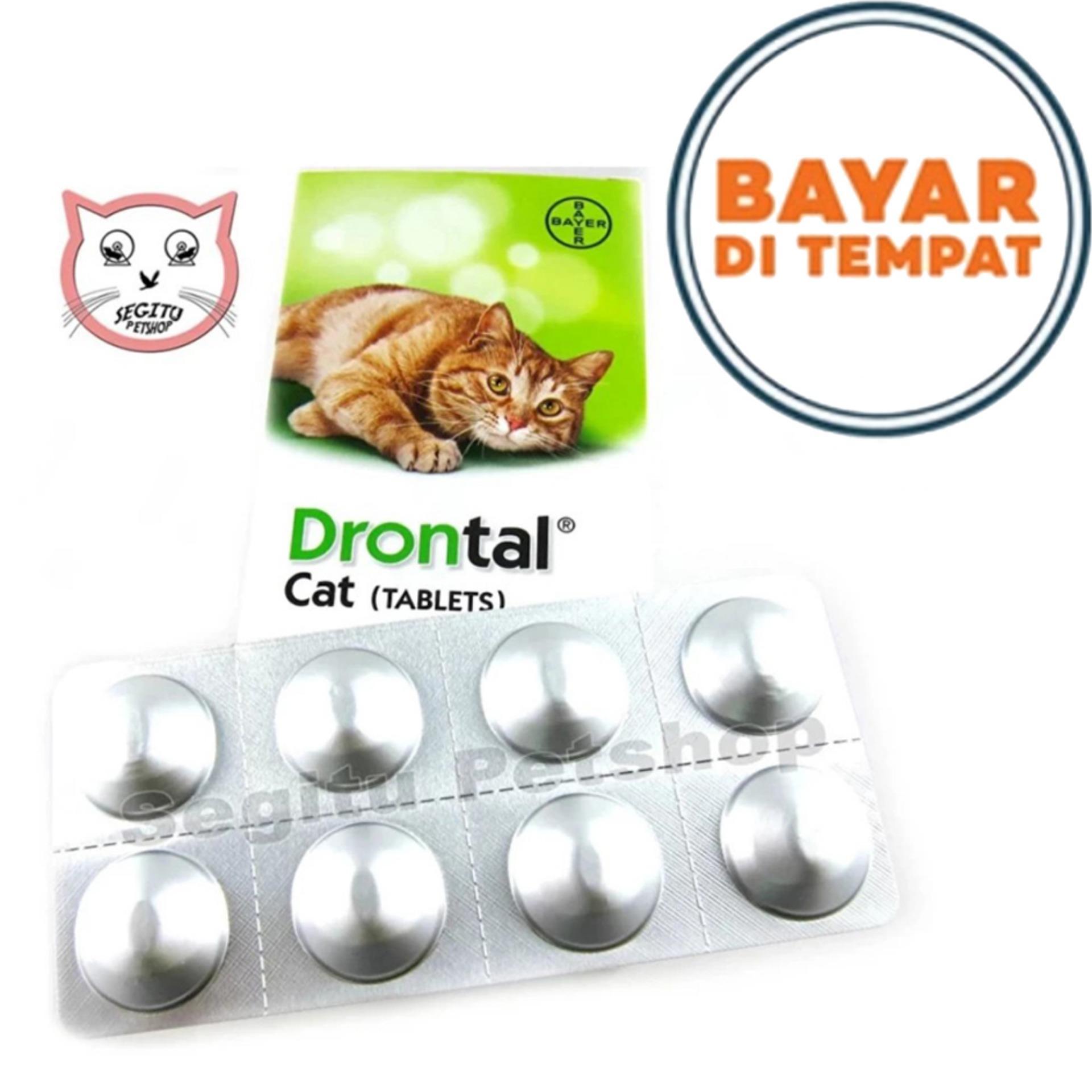 Drontal Cat Obat Cacing Kucing 1 Tablet Lazada Indonesia