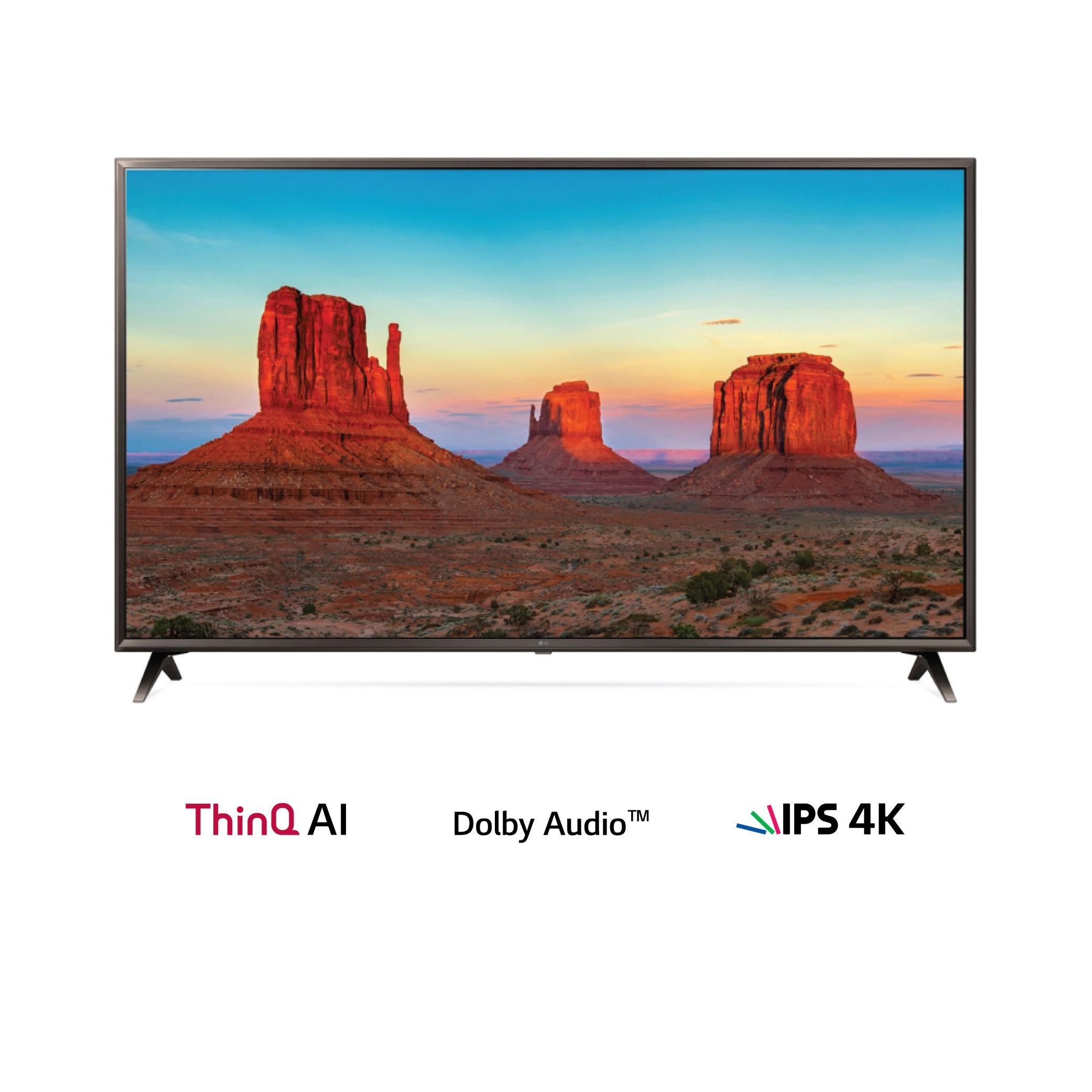 LG 43 inch Ultra HD TV - webOS 3.5 43UK6300PTE