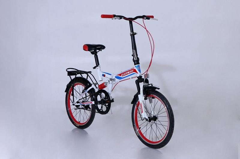 Sepeda Lipat Element Folding 69 Single Speed Putih By Elementbike