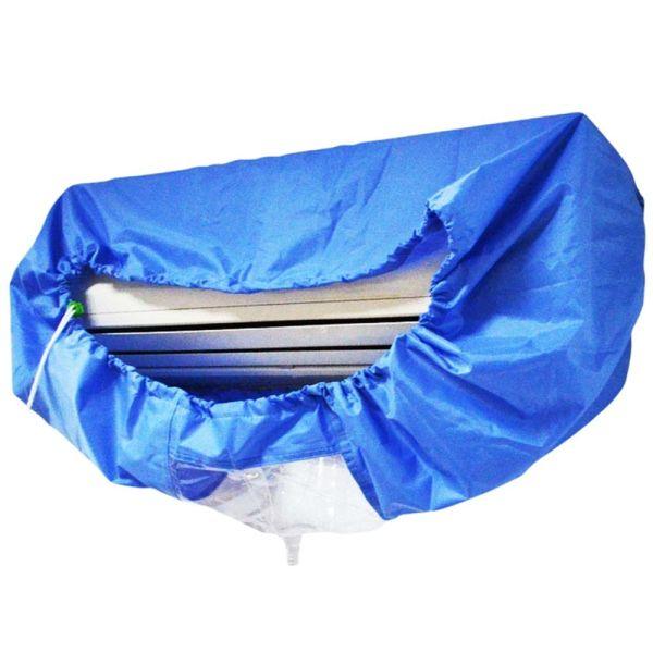 Đai Thắt Lưng Màu Xanh Dương Chống Thấm Nước MO4T6I, Vỏ Bọc Vệ Sinh Bảo Vệ Rửa Sạch, Bụi Che Bảo Vệ Điều Hòa Không Khí Bìa