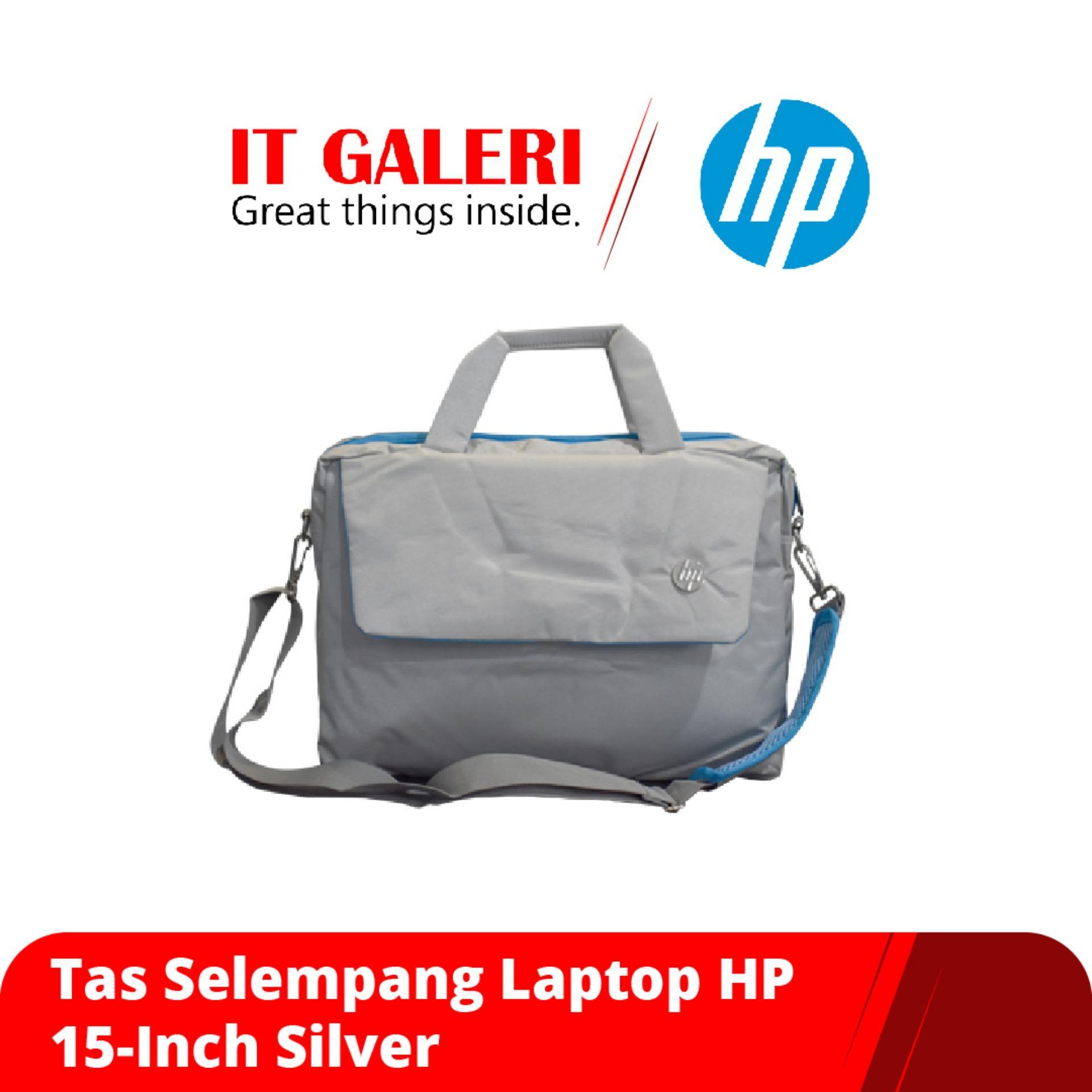 Tas Selempang Laptop HP 15-Inch Silver