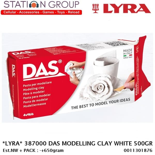 Das Modelling Clay Tanah Liat 1 2 1 Kg White Terracotta Lazada Indonesia