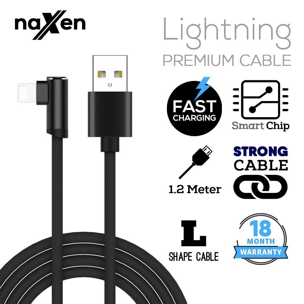 Rp 33.000. Naxen Premium Nylon Lightning USB Cable ...