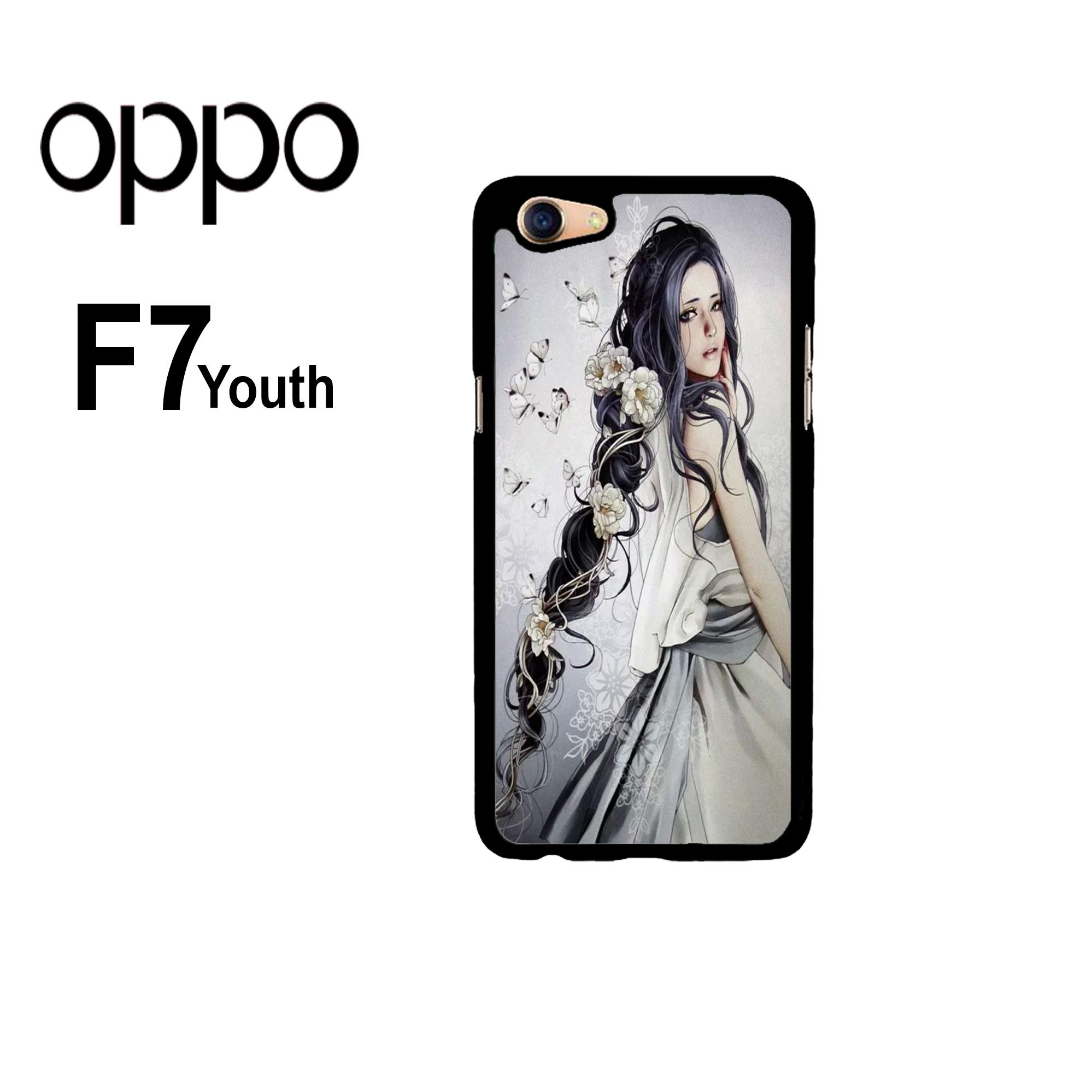Rajamurah fashion printing case oppo f7 youth - 27