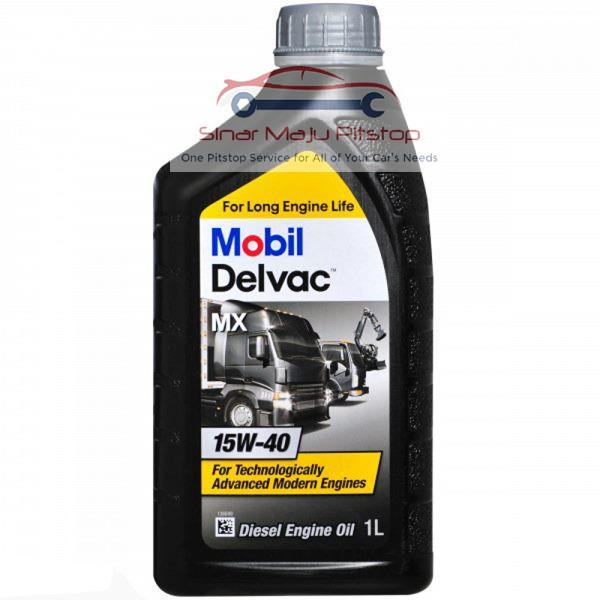 Murah Mobil Delvac MX 15W-40 FOR LONG ENGINE LIFE - Pelumas Oli
