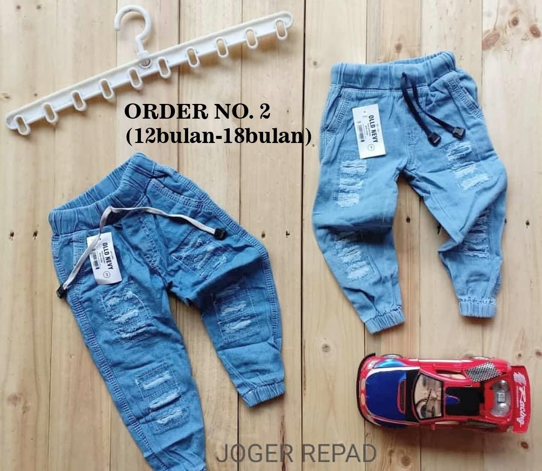 JOGGER JEANS RIPPED ANAK 1-5 TAHUN 74114a63ed