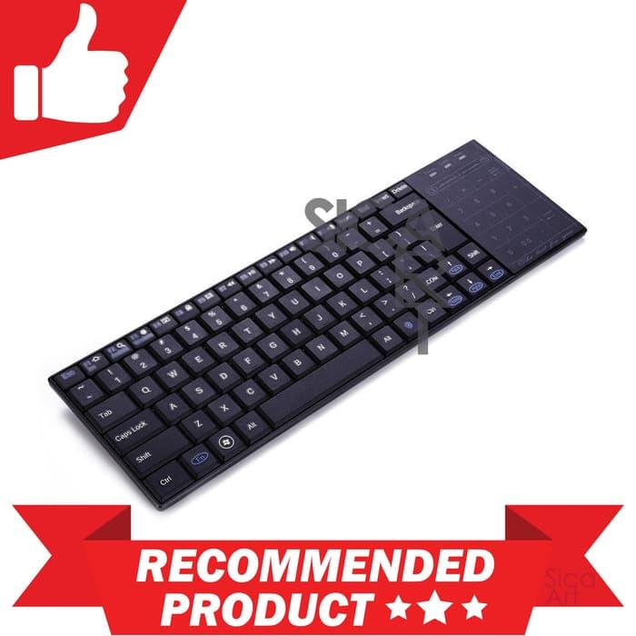 Bluetooth Keyboard Dengan Mouse Pad & Touch Numpad - BT10
