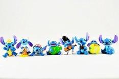 Spesifikasi A1Toys Mainan Action Figure Figurin Lilo And Stitch Set 8 Figur Yang Bagus