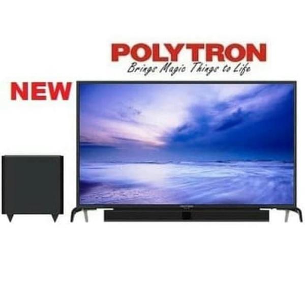 LED TV POLYTRON 32 Inch With Cinemax Soundbar 32 PLD32B1550