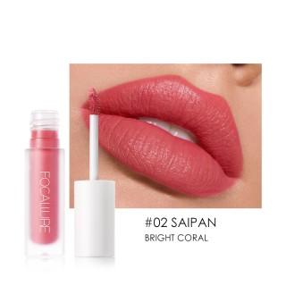 FOCALLURE Staymax Lisptick matte - Tahan 24Jam Lipstik Tahan lama anti air lipstik Lipcream liptint lipglos bening implora wardah thumbnail