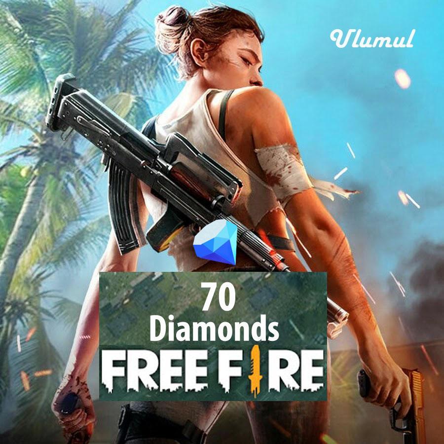 70 Diamond Free Fire By Ulumul Shop.