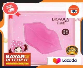 (Dapat 2) Bioaqua Masker Bibir Pink - Masker Bibir Bioaqua Collagen - Bibir Masker Bioaqua Collagen thumbnail