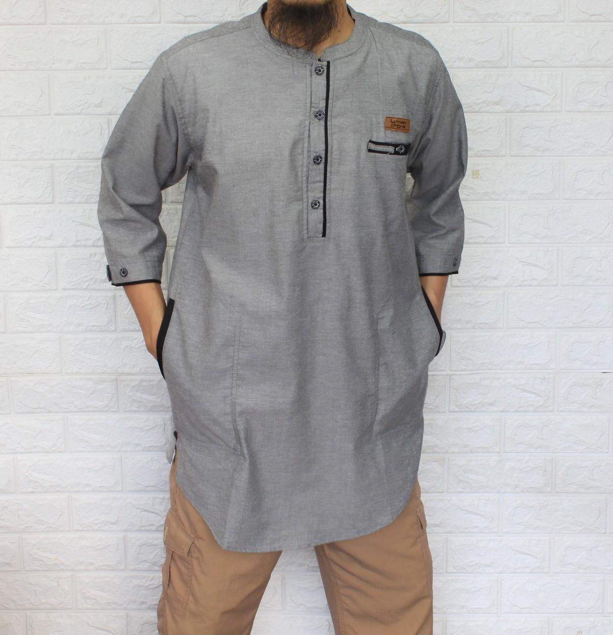 Baju Koko Qurta Pakistan Pria Terbaru Design Dan Motif Mewah Bahan Tebal Berkualitas