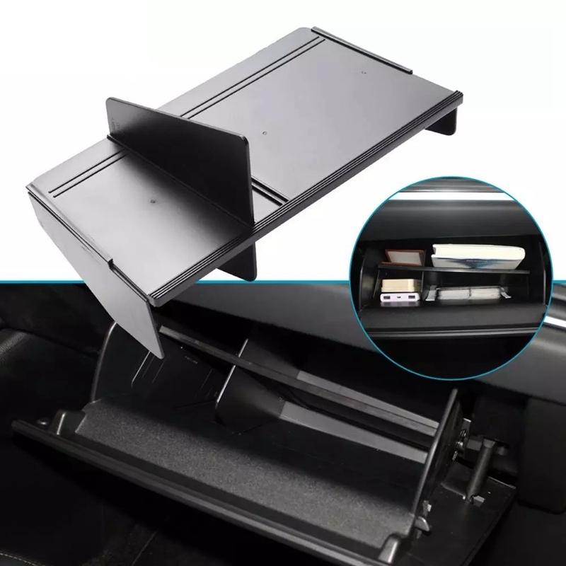 Car Glove Box Interval LH for Mazda CX-5 CX-8 2017-2019 CX5 CX8 Co-Pilot Storage Partition Box Interior Accessories
