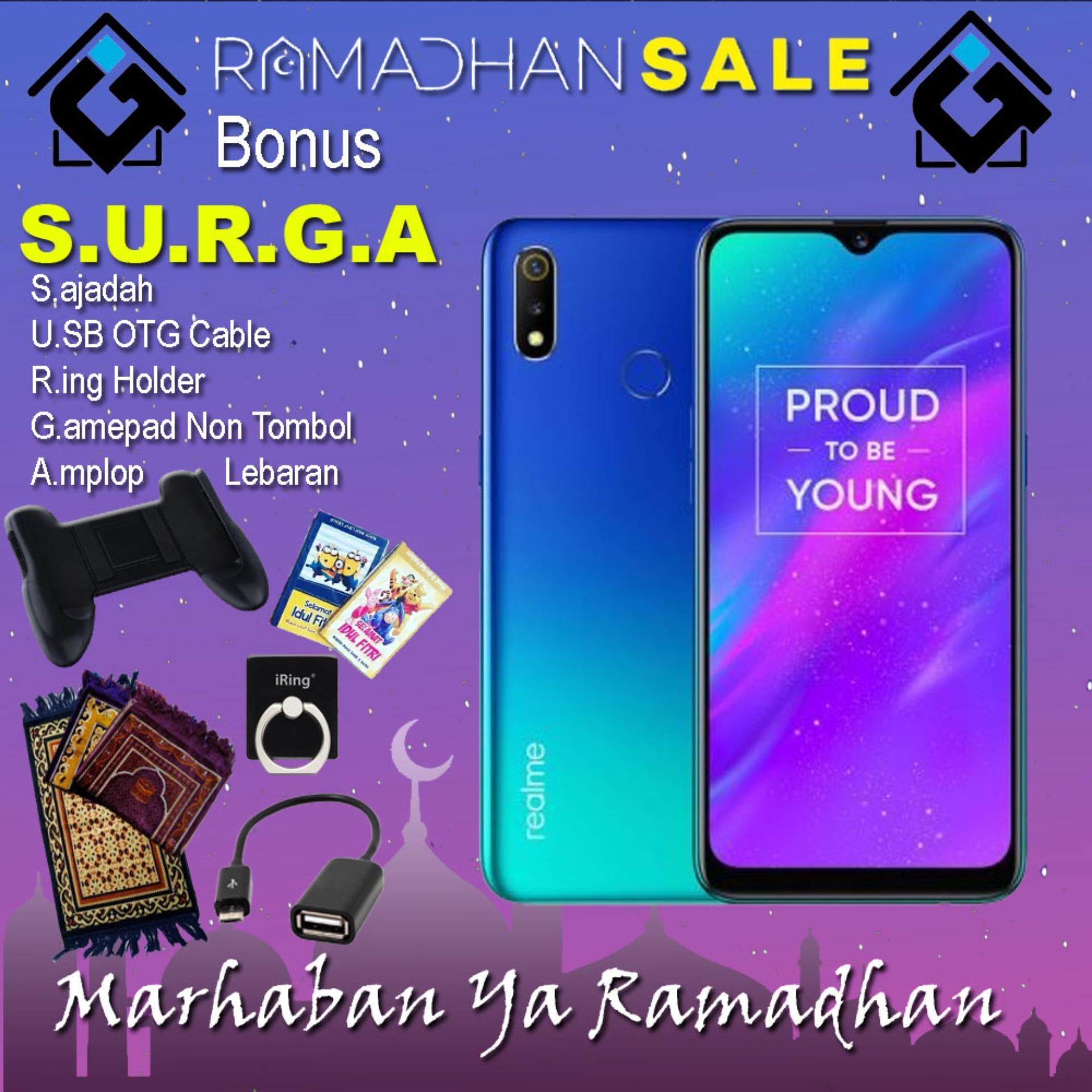 Realme 3 Smartphone [3GB / 32GB] Garansi Resmi