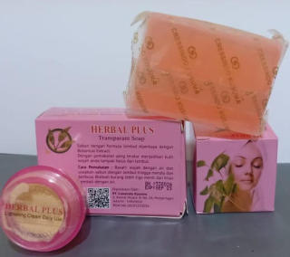 PAKET 2IN1 (Sabun + Cream Herbal Plus Pt.Cressindo) di Keyko Shop thumbnail