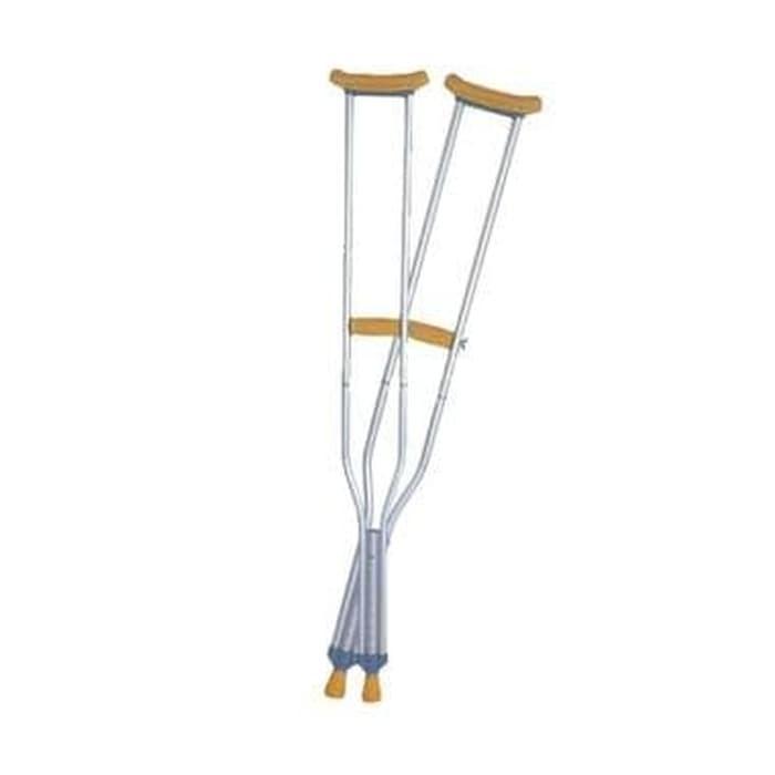 Tongkat Ketiak / Tongkat bantu jalan alat penunjang gerak GEA/Kruk