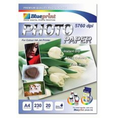 Blueprint Bp-Gpa4230 Polos : Photo Paper A4 230 Gsm (tulip) By Palugada