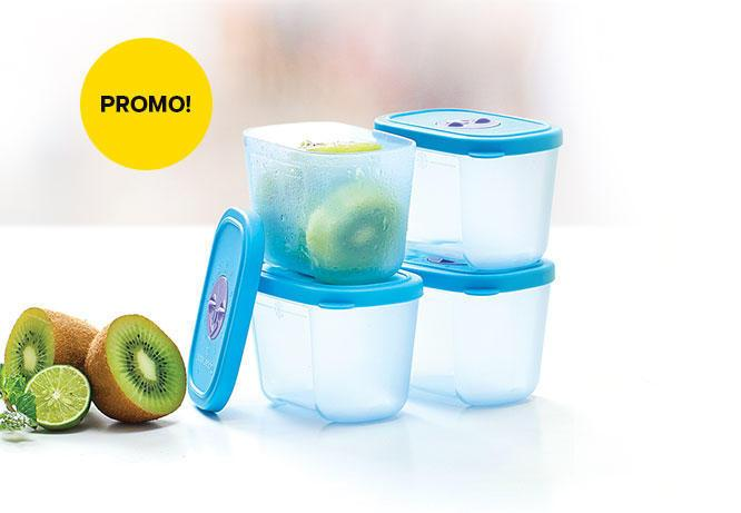 Tupperware Mini Freezer Mate With Dial Satuan - Promo Desember By Dekiddos.