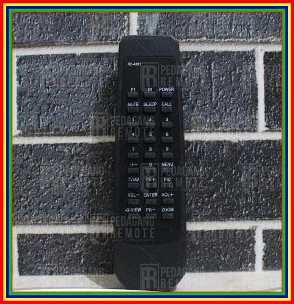Remot Remote TV Akari Tabung Rc-4281 Kw Super