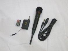 Jual Homic Microphone Mic Single Wireless Hm 308 Hitam Branded Original