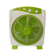 Harga Sanex Kipas Angin Meja Model Box Fan 12 Inch Sb 818 Hijau New