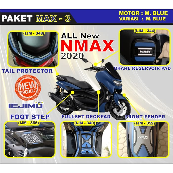 Paket Variasi All New Nmax 2020 Paket Modifikasi All New Nmax 2020 Paket Aksesoris All New Nmax 2020 Lazada Indonesia