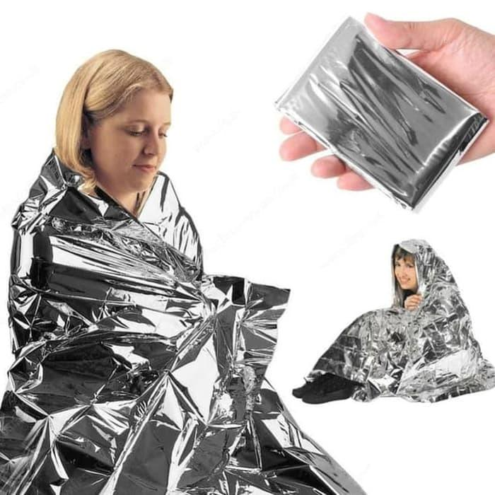 PROMO Emergency Blanket Eiger 910003405 001 Silver Selimut Outdoor/Hiking - XxfNrycO
