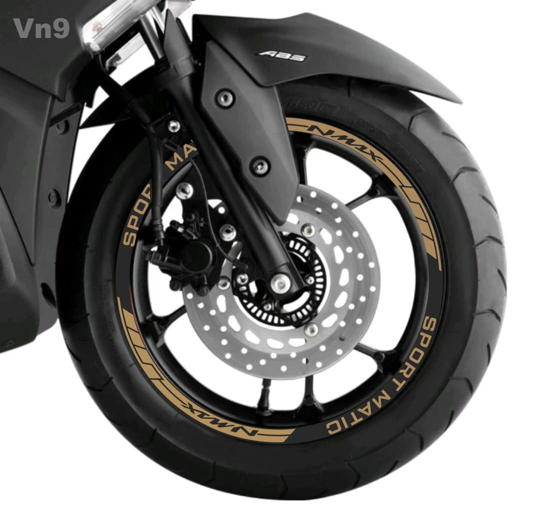 ME Cutting Sticker - for YAMAHA VELG NMAX – Stiker NMAX – GOLD